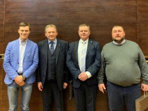 Деловая встреча фонда РОСТ с партией РОСТА
